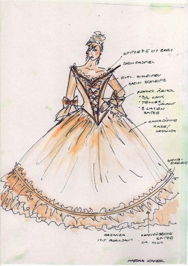 Kostümbild Hochzeit - Kostuemkunst.com